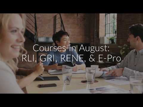 August Professional Development Courses