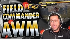 BEST PUBG MOBILE GAME EVER w/ MAXED FIELD COMMANDER AWM