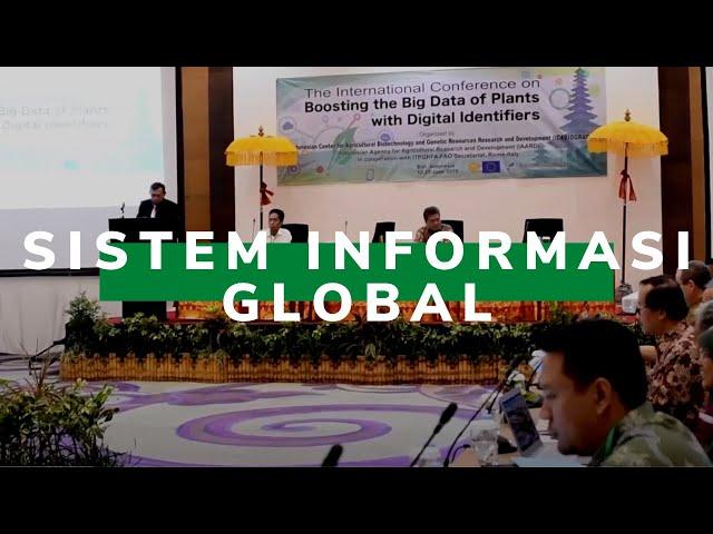Balitbangtan Sukses Gelar Konferensi Internasional tentang Sistem Informasi Global