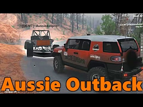 Spin Tires | NEW UNRELEASED MAP! | Aussie Outback | Let's Explore!