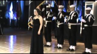 US Navy Submarine Division Ball 2013 National Anthem