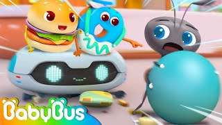 Go! Police Robot Cleaner | Good Habits | Kids Cartoon | Animation for Kids | Kids at Home | BabyBus