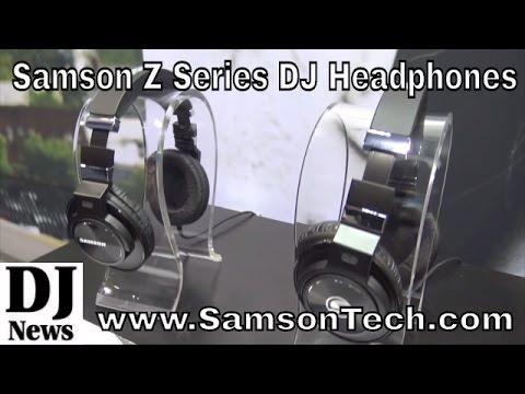 #SamsonTech Z55 Z45 Z35 Z25 Series DJ Headphones | Disc Jockey News