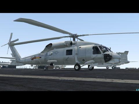 GTA V SH-60B Seahawk Navy Helicopter