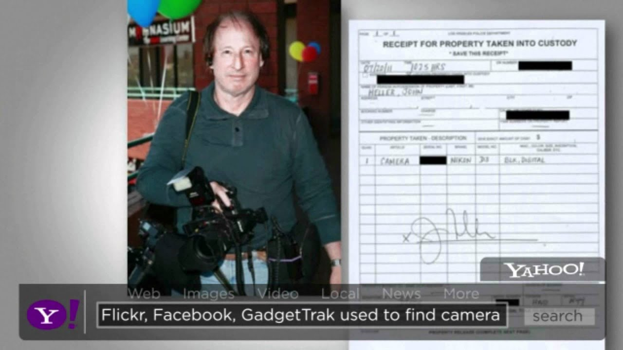 CameraTrace: Camera Registration & Recovery by GadgetTrak