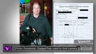 GadgetTrak Recovers $9K In Stolen Camera Equipment - Yahoo News