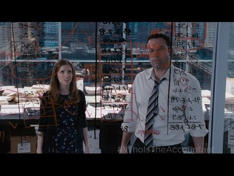 The Accountant - Now Playing TV Spot 1 [HD] fragman