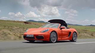 Porsche 718 Boxster and Cayman - Roof and Trunk