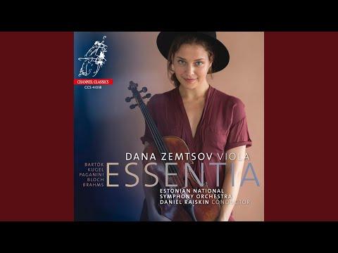 Concerto for Viola and Orchestra, Sz. 120: I. Moderato