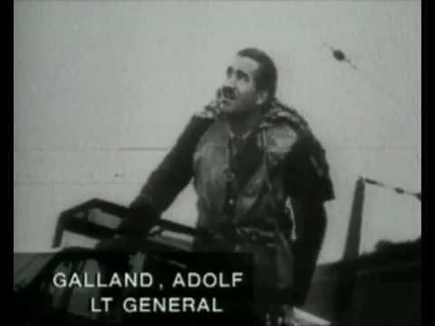 Adolf Galland, German Fighter Ace, WWII