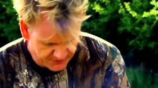 Gordon Ramsay Prepares Pigeon Salad, Black Pudding And Pancetta - The F Word