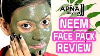 Neem Face Pack Review Application Result
