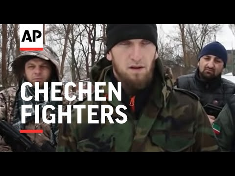 Chechen fighters join