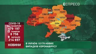 Коронавірус в Украі ні статистика за 10 листопада