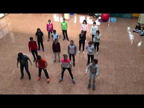 Korrikaren koreografia 6. maila