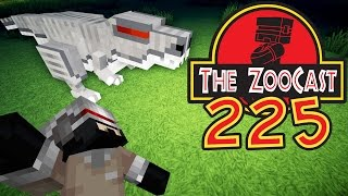 Minecraft Jurassic World (Jurassic Park) ZooCast - #225 Baby Robocaff!