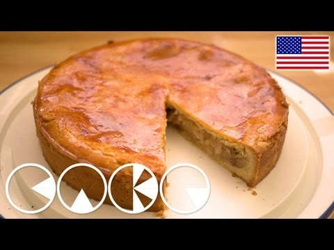 APPLE PIE German Style Recipe