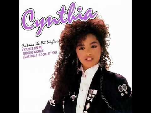 Cynthia ~ Change On Me