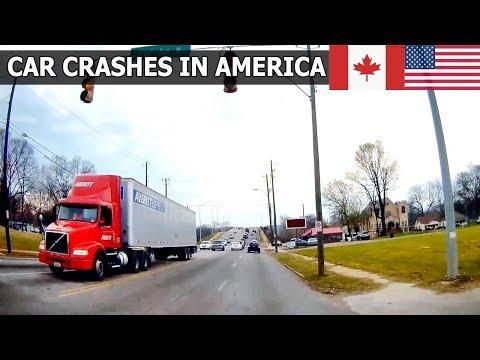 Car Crashes in America (USA & Canada) 2018 # 29