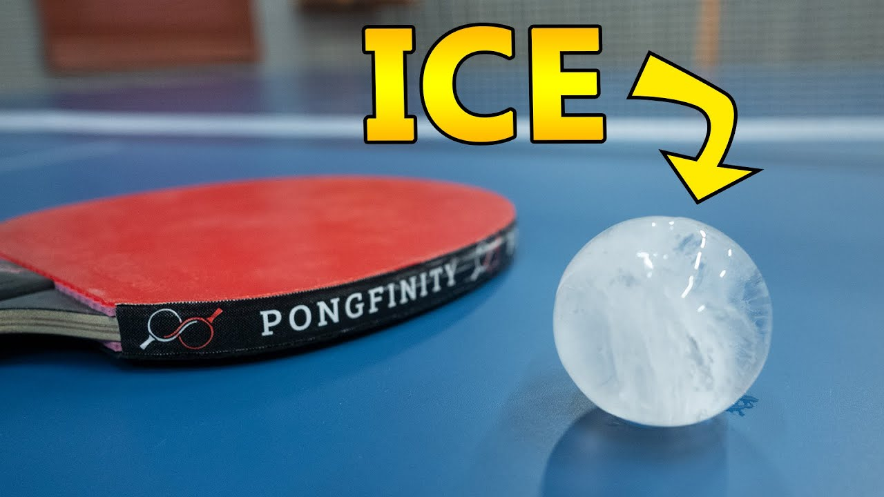 Frozen Ping Pong Ball Challenge