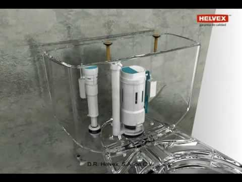 Como se instala un sanitario helvex wc taza tanque drakar for Llaves helvex precios