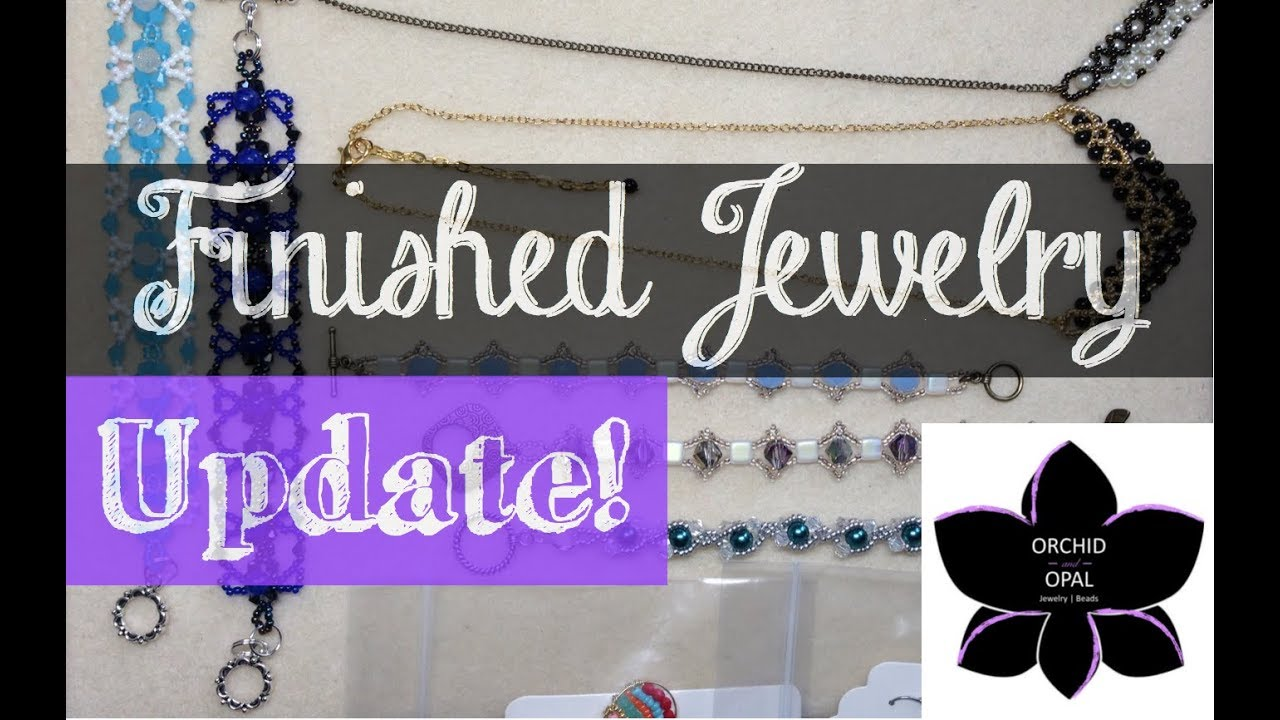 Download Finished Jewelry Update | Beading Project Share 2-April 2018