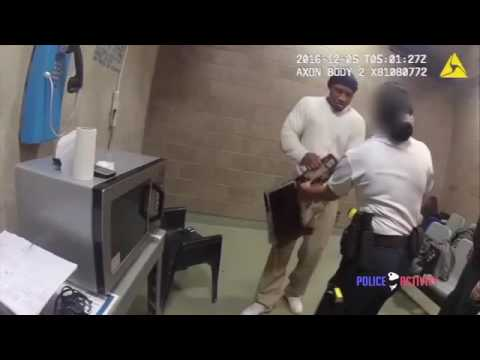 Prison inmate punches female guard in the face when she