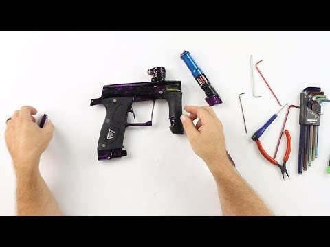 Planet Eclipse Gtek 160R Paintball Gun - Maintenance/Repair