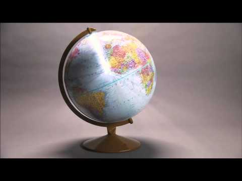 Watch a Replogle Explorer Globe made in 35 seconds or less! - BrandmadeTV