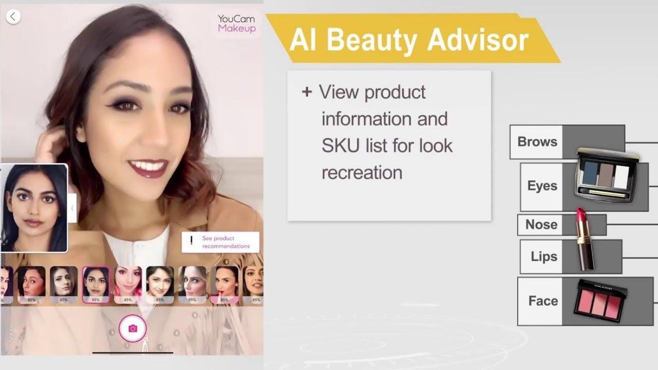 Beauty Tech: AI Beauty Advisor by Perfect Corp - YouTube