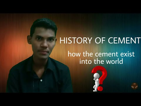 HISTORY OF CEMENT || CONCRETE TECHNOLOGY || BY AZ-METWORK