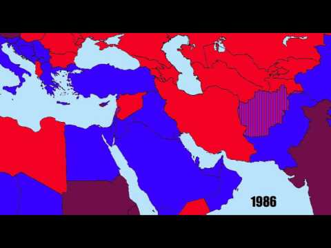 America's Allies and Enemies in the Middle East: 1939-2013