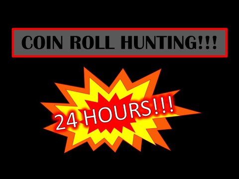 24 HR COIN ROLL HUNTING LIVESTREAM!