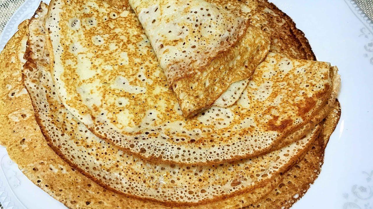 Как сделать тесто для блинчиков на молоке фото 130