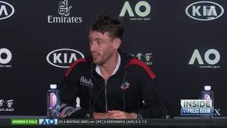 Tennis Channel Live: Roger Federer vs. John Millman 2020 Australian Open Third Round Preview