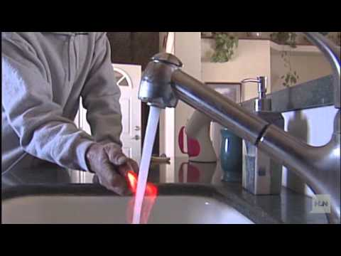 Fire from a faucet - YouTube