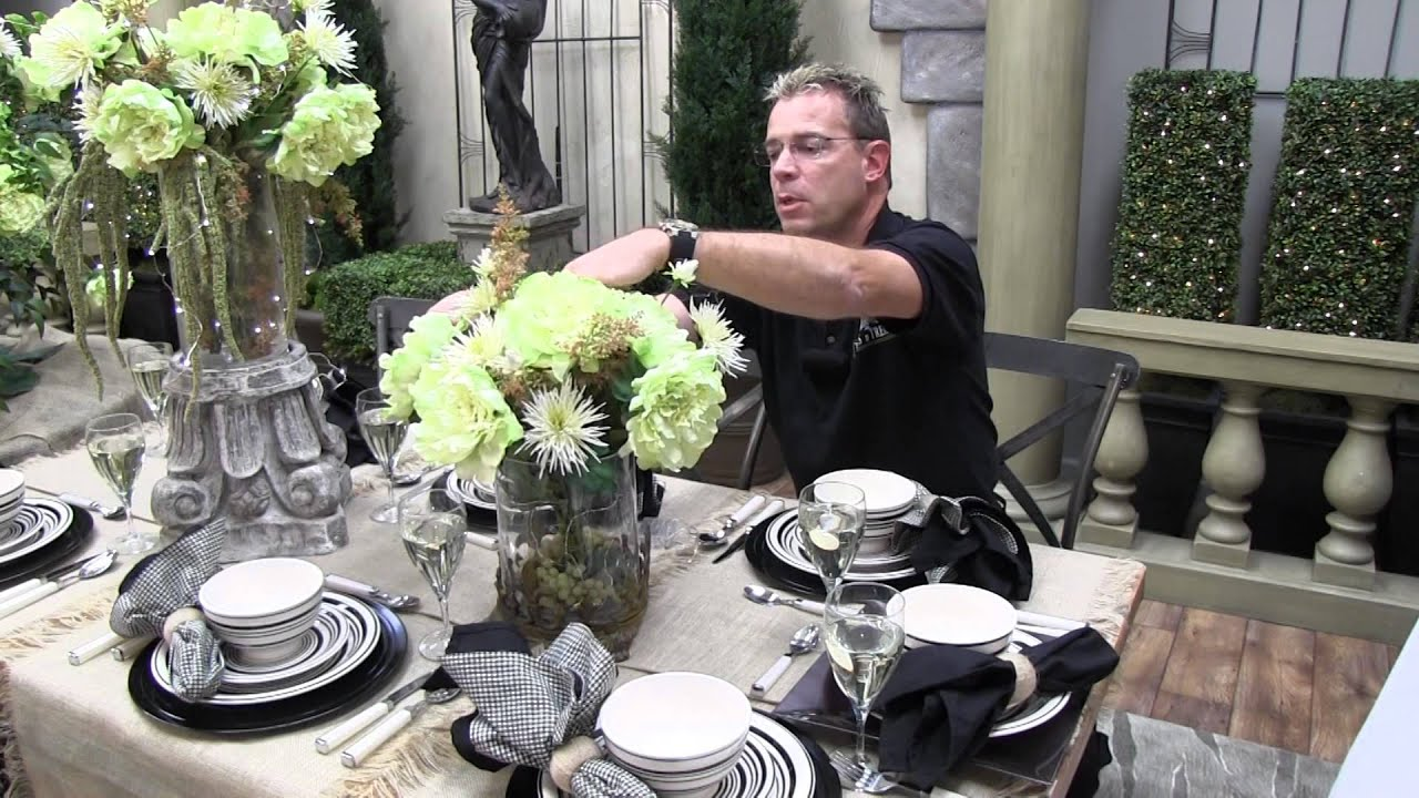 Burlap Wedding Table Center Pieces   Trees N Trends   Unique Home Decor    YouTube