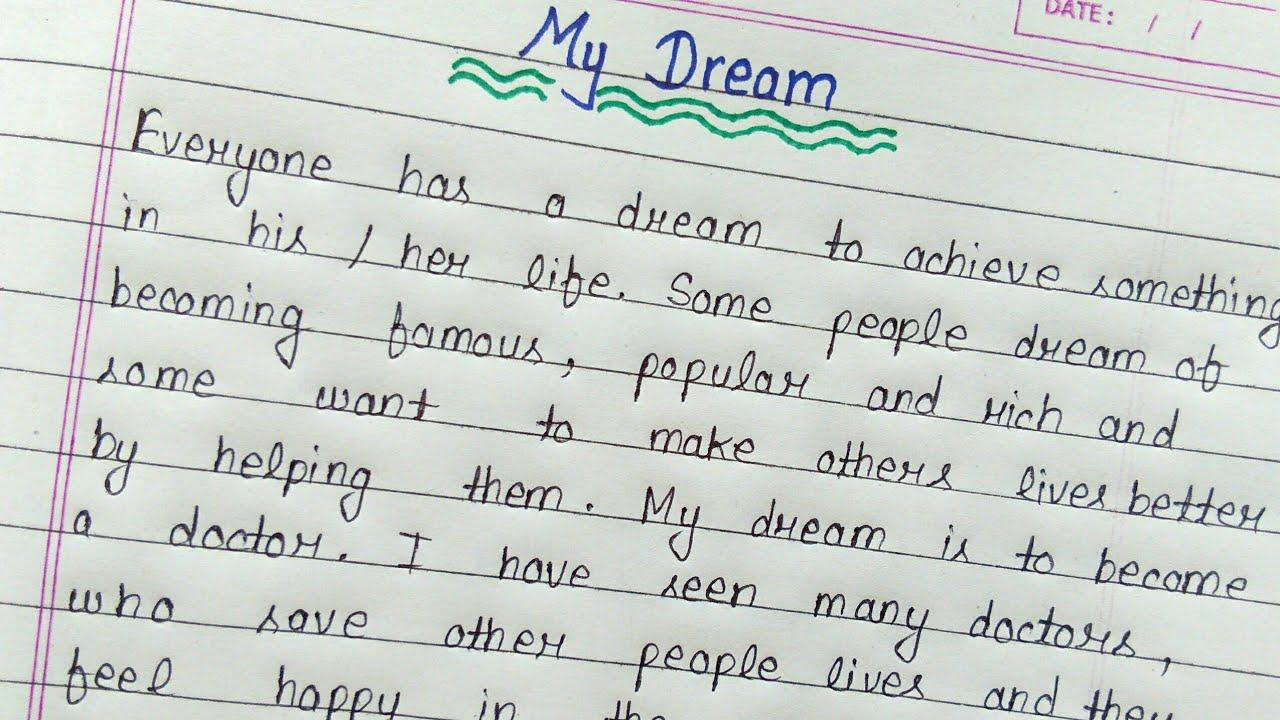 Essay on india of my deram internship graduate cover letter