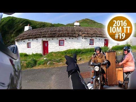 Waking Ned und die Purple Helmets - Isle of Man TT 2016 #19