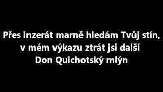Kryštof - Inzerát + text