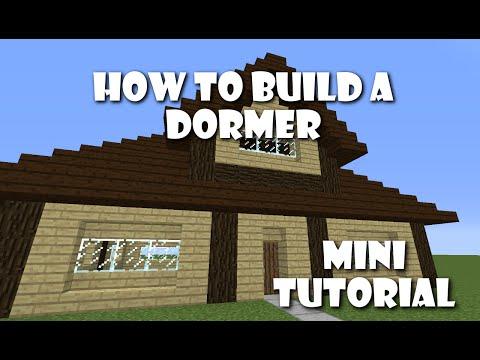 How To Build Dormers | Mini Tutorial
