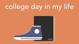 college day in my life: morning routine, 5 hour study session, classes