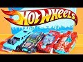 New Hot Wheels Hi Beam car playset challenge accepted speed test cars