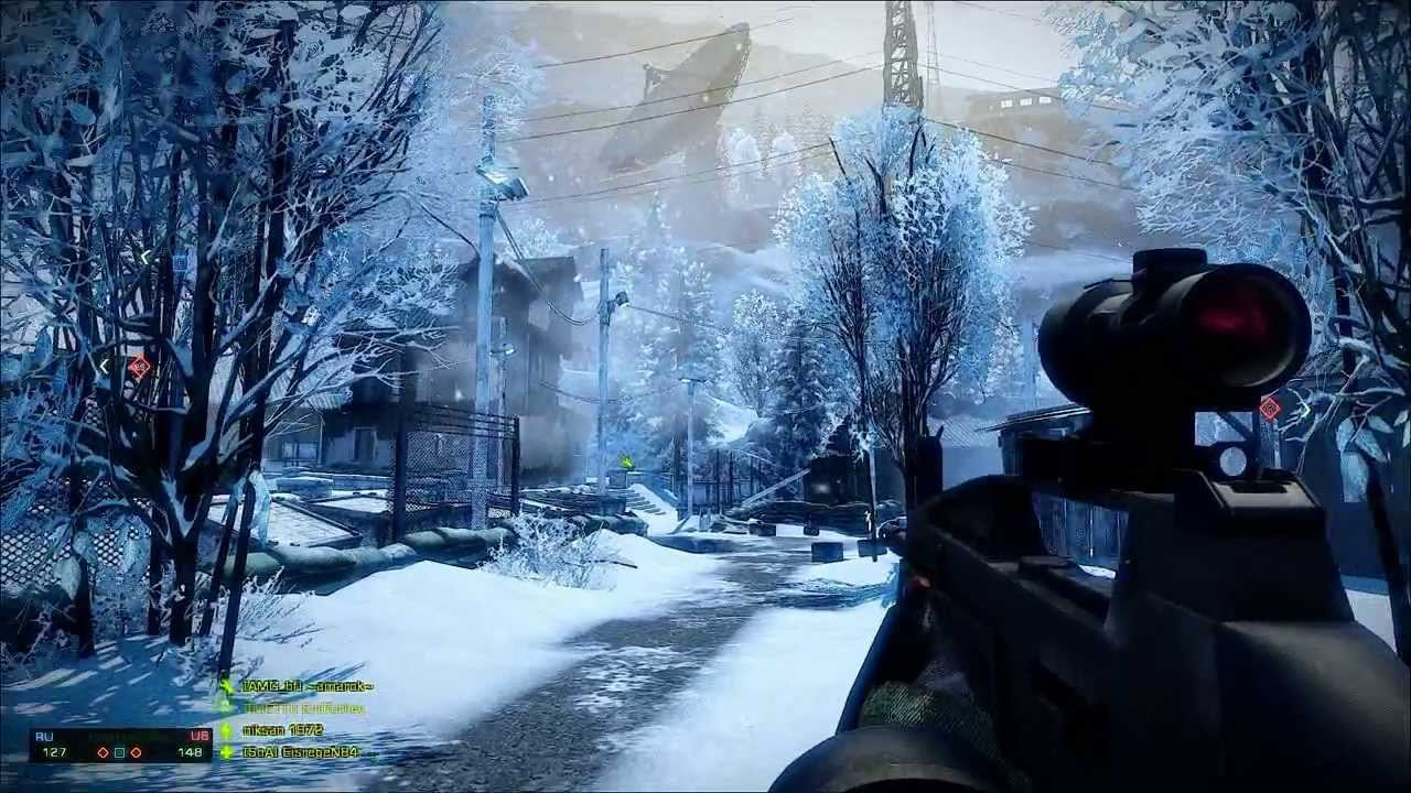 Battlefield: Bad Company 2 + SweetFX Graphics Mod Gameplay