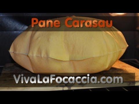 Ricetta Pane Carasau (Carta da Musica) Fatto in Casa
