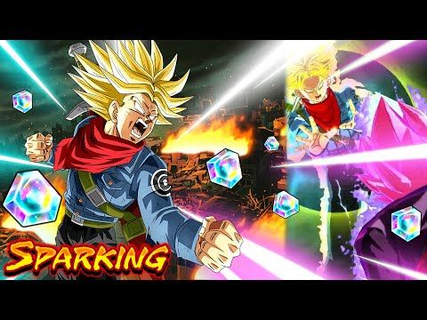Le Pouvoir caché de TRUNKS IKARI DRAGON BALL LEGENDS est respecté