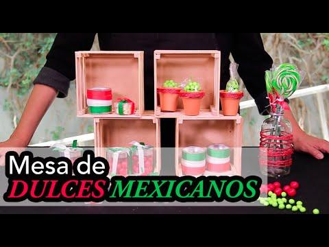 Mesa de Dulces Estilo Mexicano DIY Alejandra Coghlan  YouTube