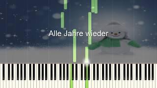 Alle Jahre wieder - Piano