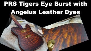 PRS Tigers Eye Burst - Nailed it!!! - Redo from the other day - Quilted Maple