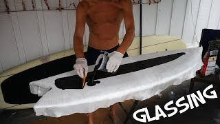 GLASSING my FISH SURFBOARD
